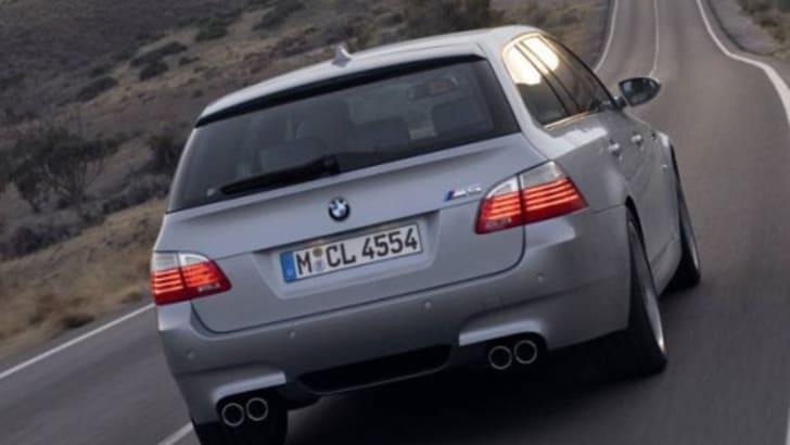BMW M5 Touring Wagon Rear