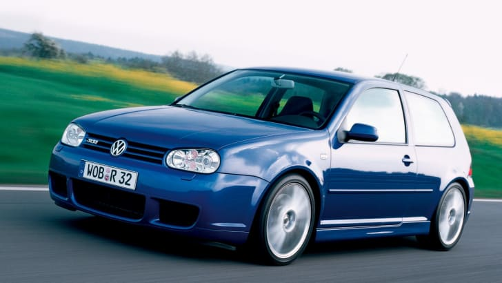 Volkswagen Golf R32 - 2002