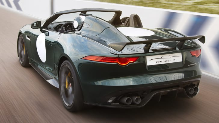 Jaguar F-Type Project 7 rear
