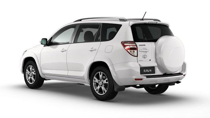 Toyota RAV4 Altitude - White