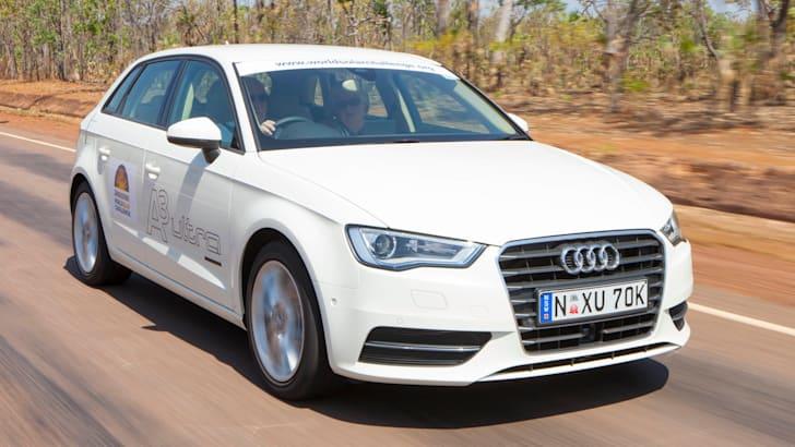 Audi A3 Sportback 1.4 TFSI COD at World Solar Challenge - 2