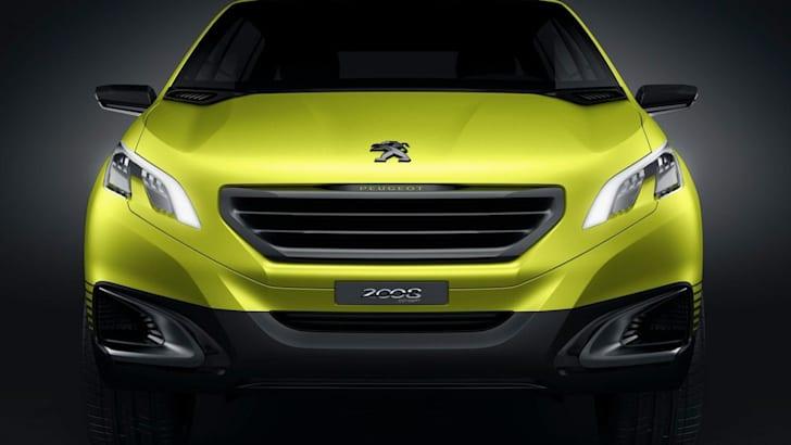 Peugeot 2008 Concept - 3