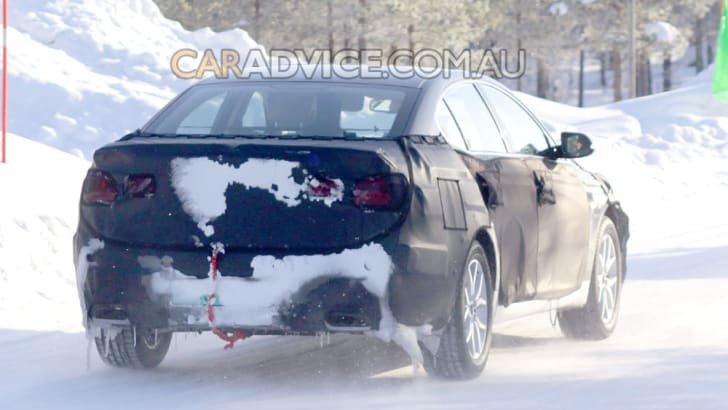 2009 Kia 'VG' luxury sedan spied
