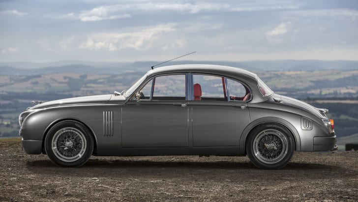 Jaguar Mark 2 restomod by Ian Callum and CMC - side