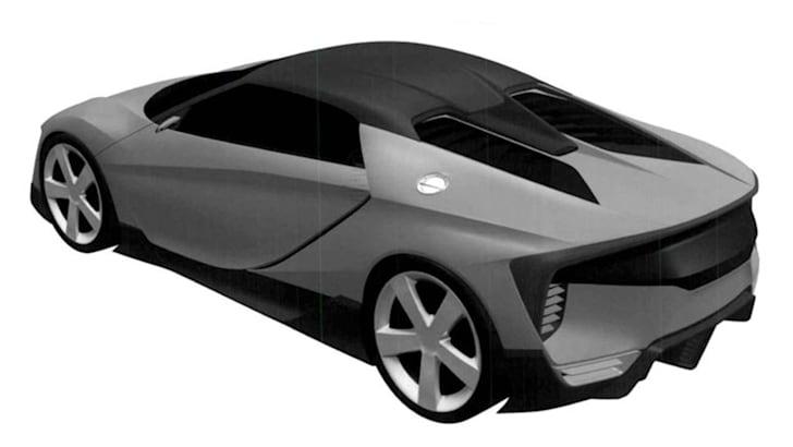 honda-mid-engine-sports-car-patent-rear