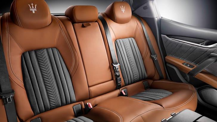 Maserati Ghibli Ermenegildo Zegna - rear seats
