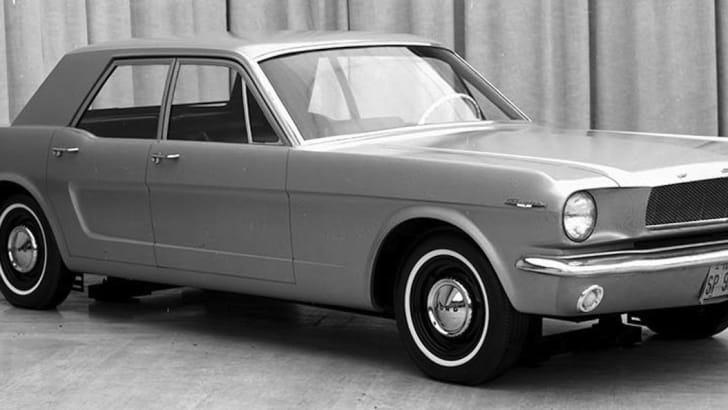 Ford Mustangs That Never Were: 1965 four-door Mustang