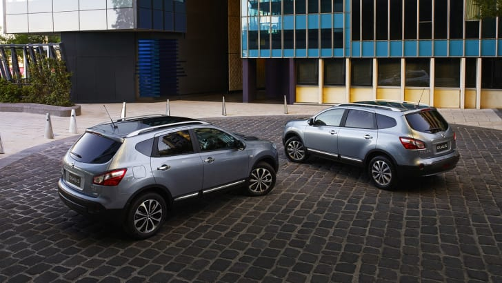 Nissan Dualis and Dualis+2
