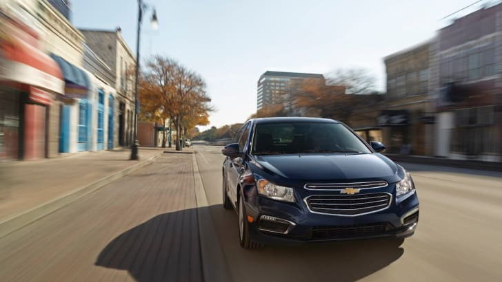 2015 Chevrolet Cruze update