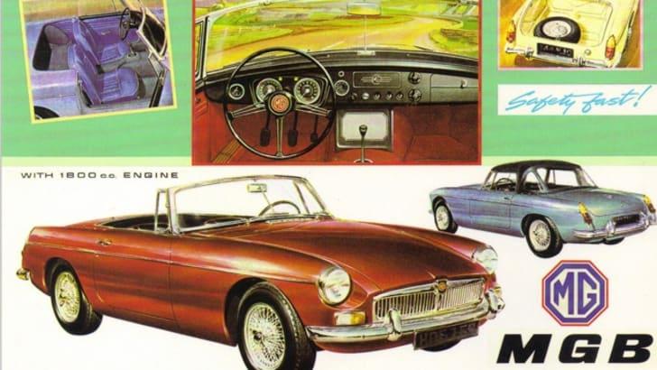 MG MGB Roadster - 1962