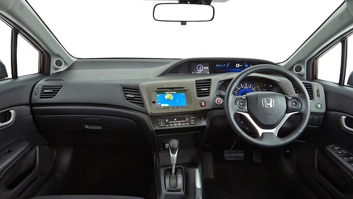 Honda Civic sedan - 2