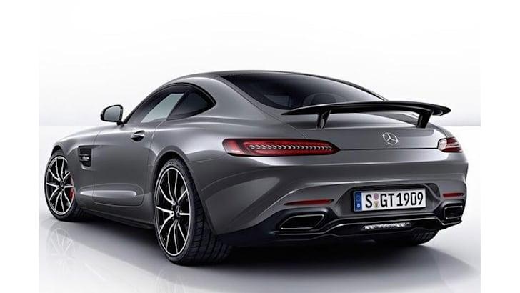 Mercedes-AMG GT Edition 1 leak - rear