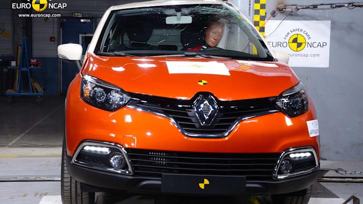 Renault Captur Euro NCAP - 1