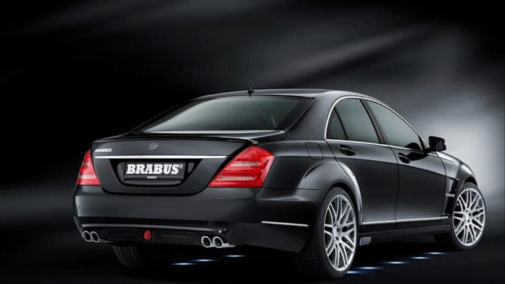Brabus SV12 R Biturbo Frankfurt debut