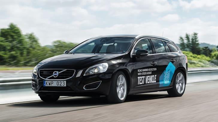 Volvo test vehicle