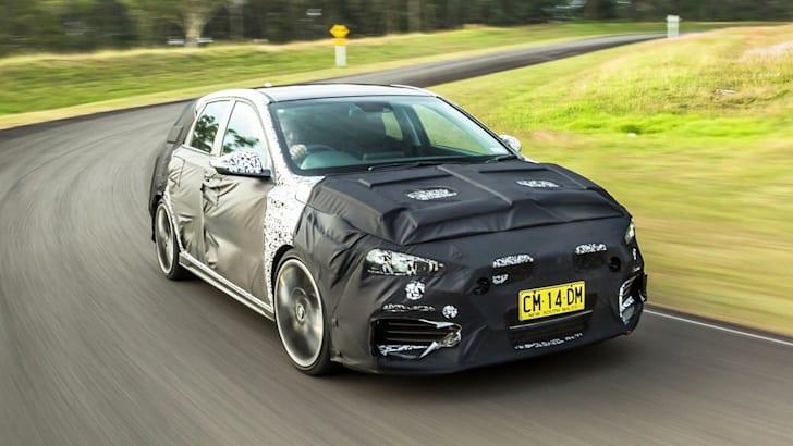 Hyundai i30 N more track-focused than benchmark Golf GTI