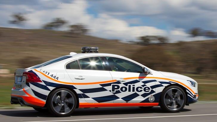 Volvo S60 Polestar police car 2