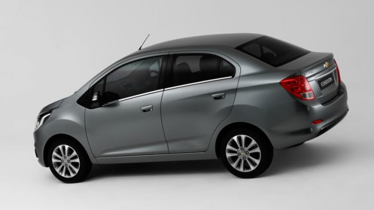 Chevrolet Essentia Rear and Side View