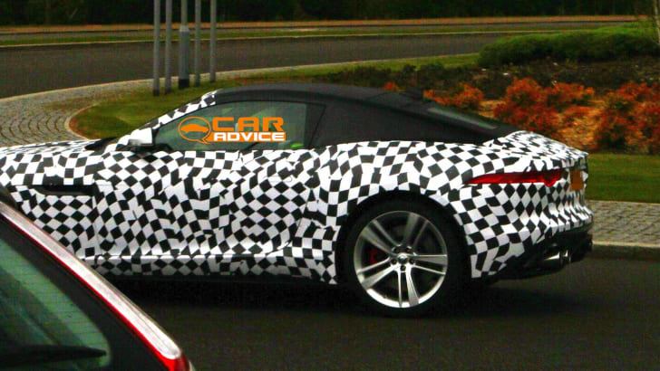 Jaguar F-Type Coupe Spied - 6