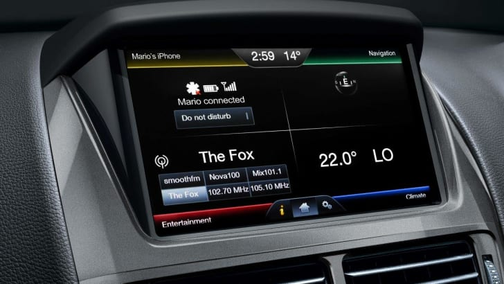 Ford Falcon interior 2