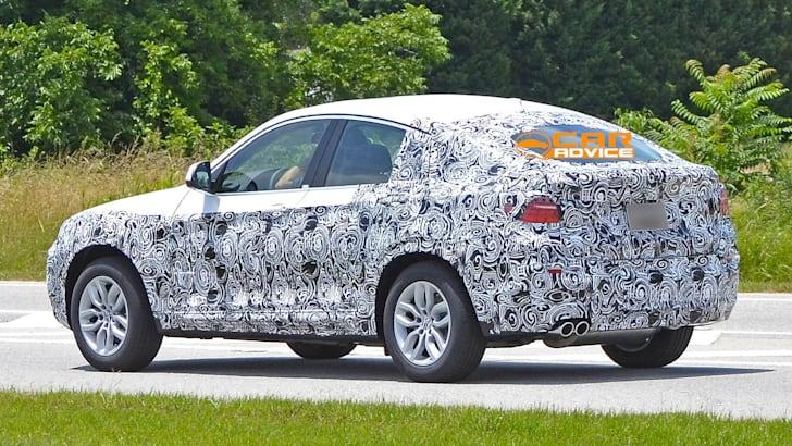 BMW X4 spied - 6