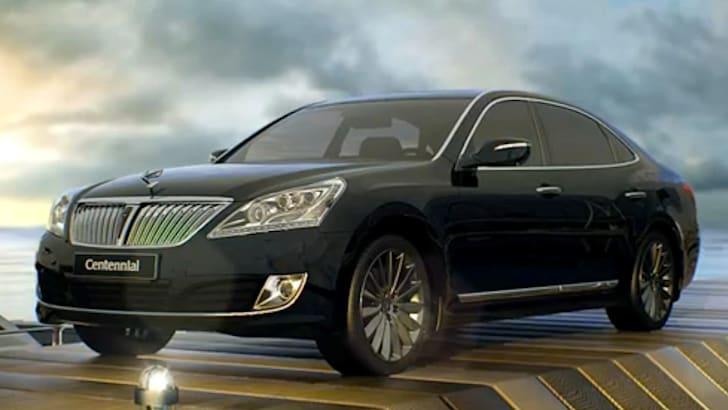 Hyundai Equus - 1