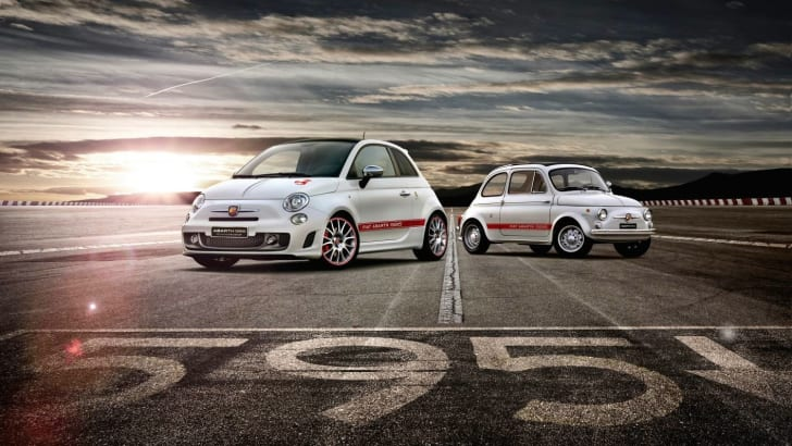Fiat Abarth 595 50th Anniversary 3