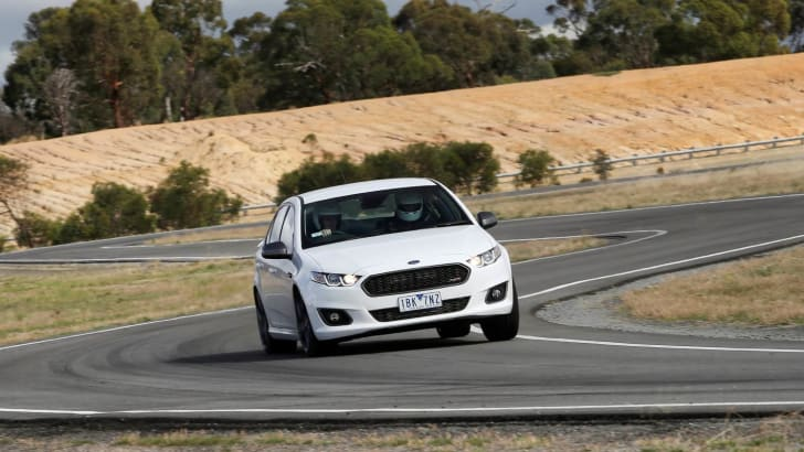 XR6 Sprint - handling assessment at PG