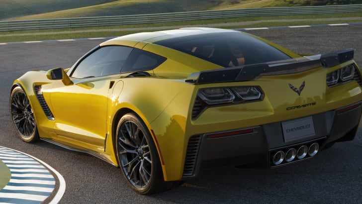2015 Chevrolet Corvette Z06 - rear
