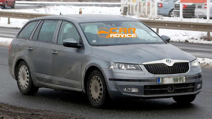 Skoda Octavia Wagon Spied - 2