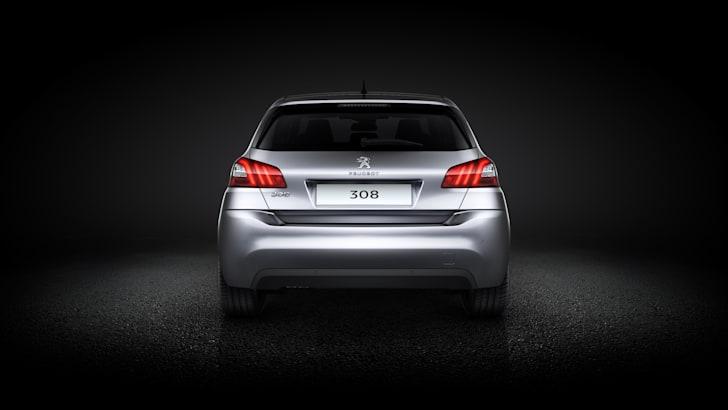 2013 Peugeot 308 rear