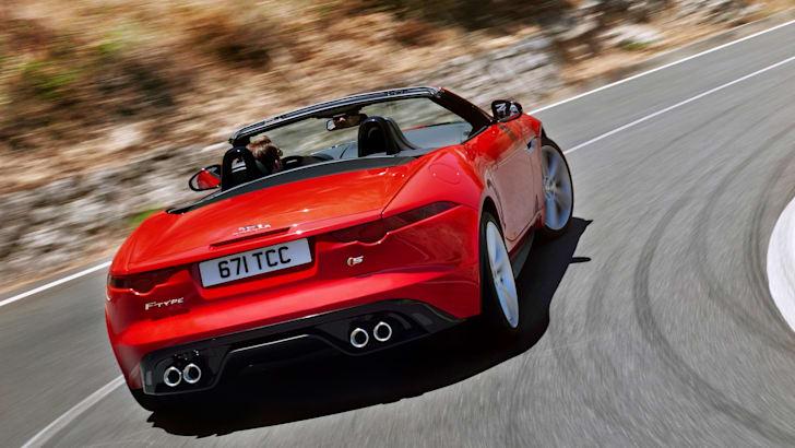 Jaguar F-Type - Red