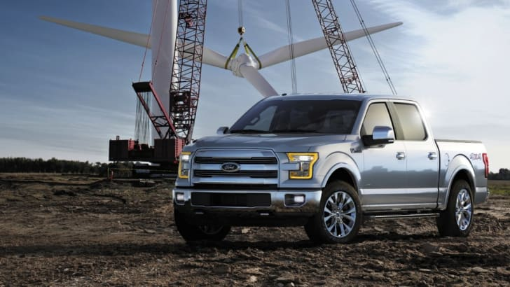 Ford F150 2015 on site