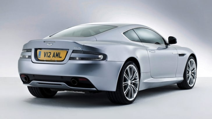 2013 Aston Martin DB9 - Rear Side