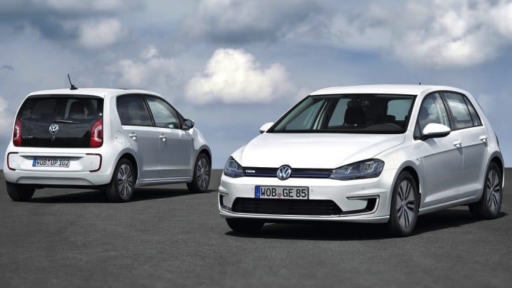 Volkswagen e-Golf and e-Up!
