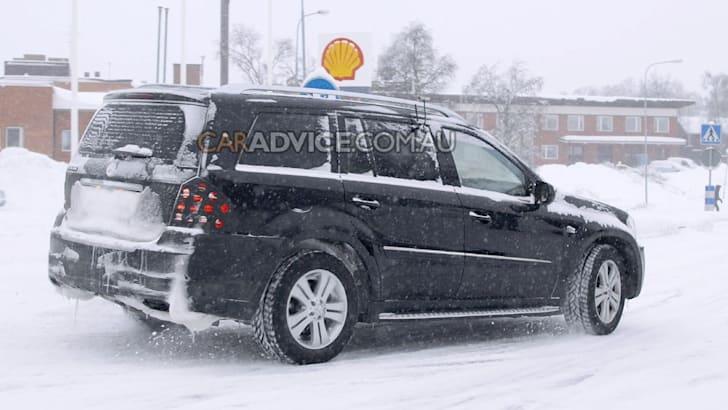 2009 Mercedes-Benz GL facelift spied