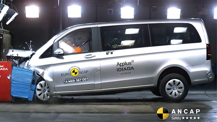 Mercedes-Benz V-Class (Jul 15-onwards) frontal offset
