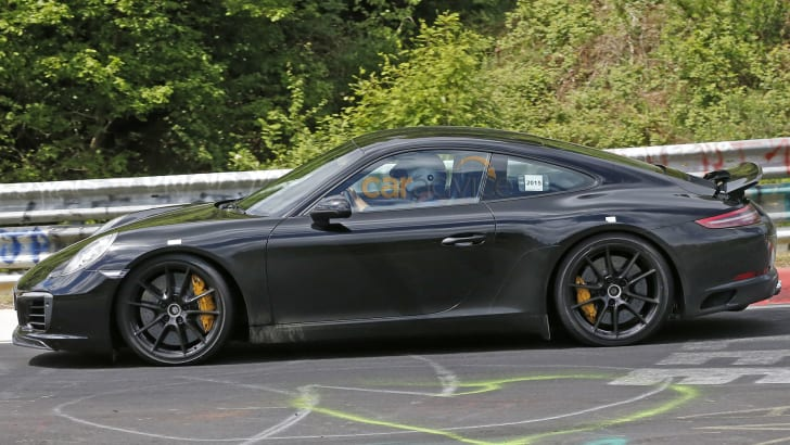 porsche-911-facelift-spy-c5-side