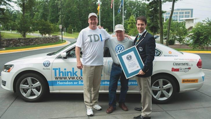 Volkswagen Passat TDI Fuel Economy World Record