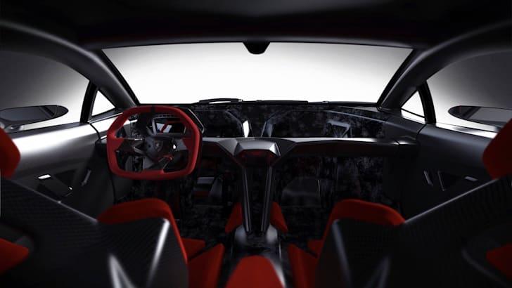 Lamborghini Sesto Elemento - Interior 2