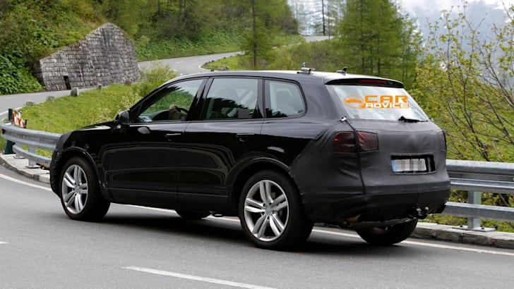 Volkswagen Touareg Facelift Spied - 7