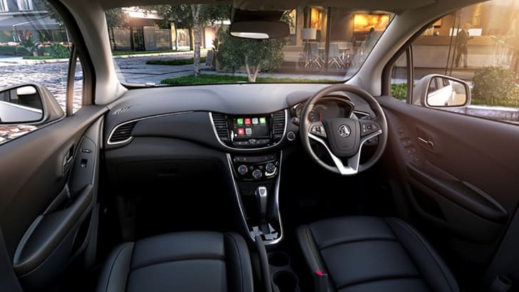 Holden Trax_Interior_design image