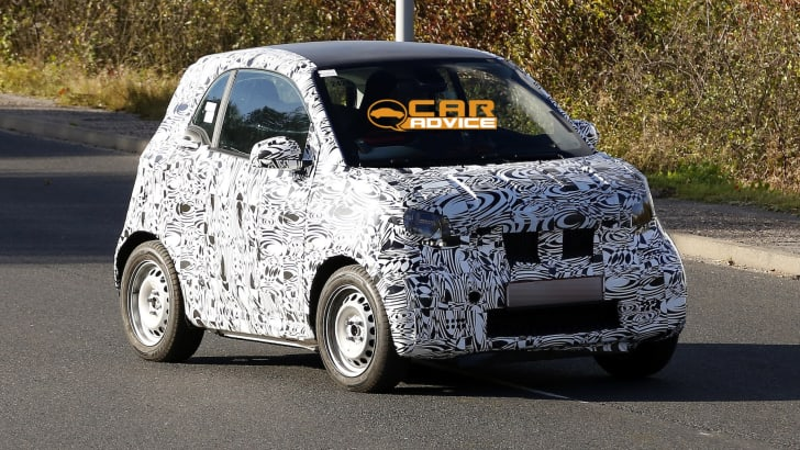 Smart ForTwo Spied - 2