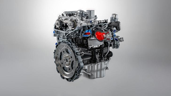 2017 Jaguar F-TYPE four-cylinder Ingenium petrol engine