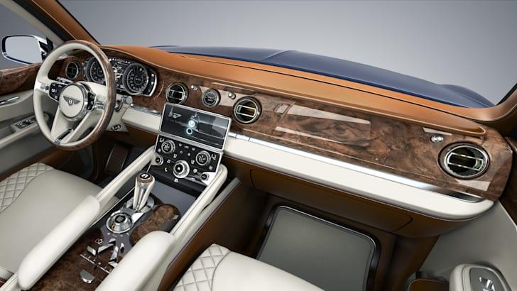 Bentley EXP 9F interior