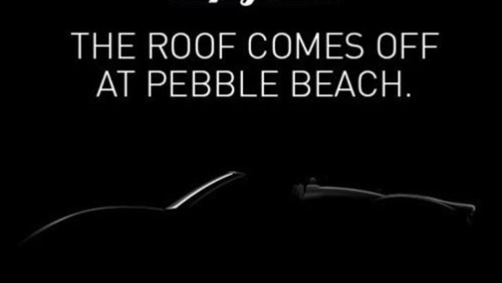 Spyker B6 Venator Spyder Concept - Teaser