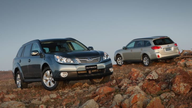 MY10 Subaru Outback