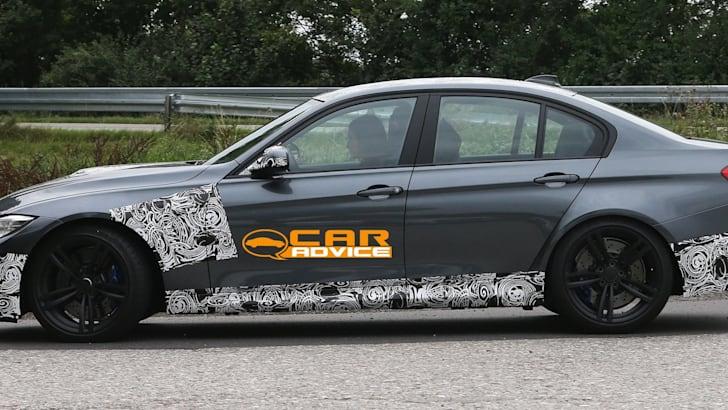 BMW M3 Spied - 4