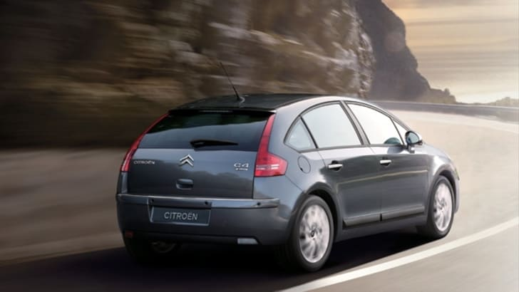 2009 Citroën C4 range facelift
