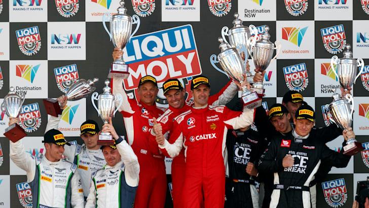 2017 Bathurst 12 Hour podium